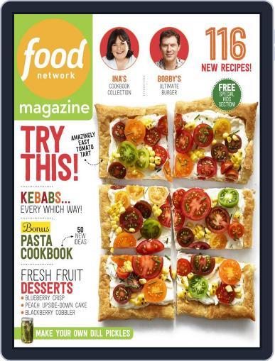 Food Network September 1st, 2014 Digital Back Issue Cover