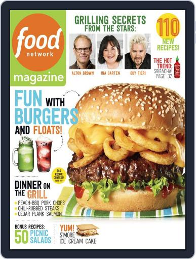 Food Network (Digital) June 1st, 2014 Issue Cover
