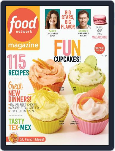 Food Network (Digital) May 1st, 2014 Issue Cover