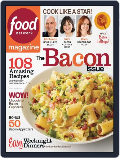 Food Network (Digital) March 1st, 2014 Issue Cover