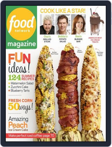 Food Network (Digital) July 1st, 2013 Issue Cover
