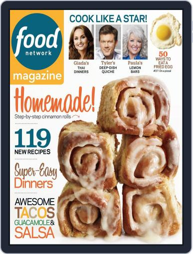 Food Network (Digital) May 1st, 2013 Issue Cover