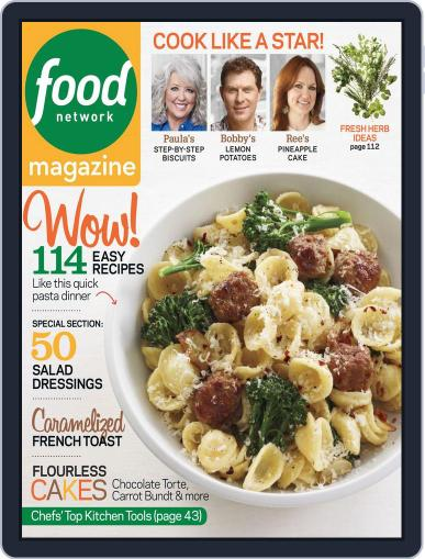 Food Network (Digital) April 1st, 2013 Issue Cover