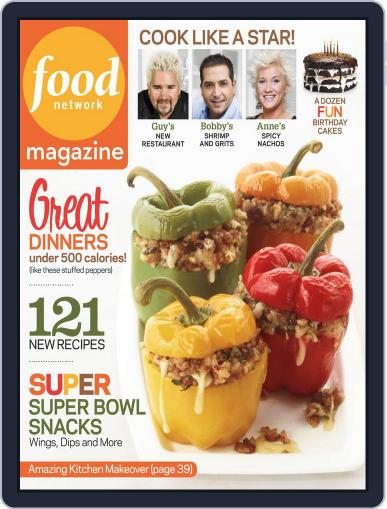 Food Network (Digital) January 1st, 2013 Issue Cover