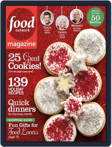 Food Network (Digital) December 1st, 2012 Issue Cover