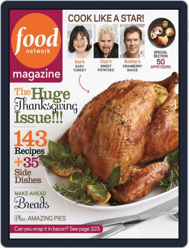 Food Network (Digital) October 11th, 2012 Issue Cover