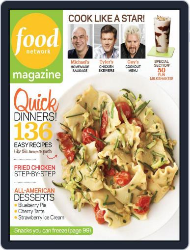 Food Network June 19th, 2012 Digital Back Issue Cover