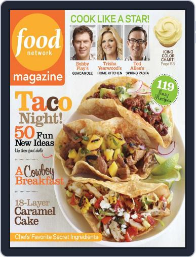 Food Network (Digital) April 10th, 2012 Issue Cover