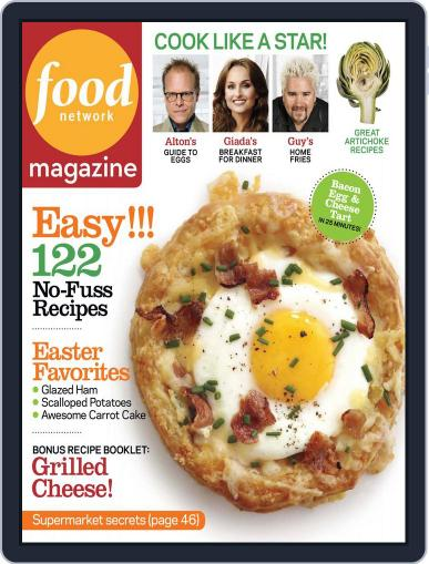 Food Network (Digital) March 14th, 2012 Issue Cover