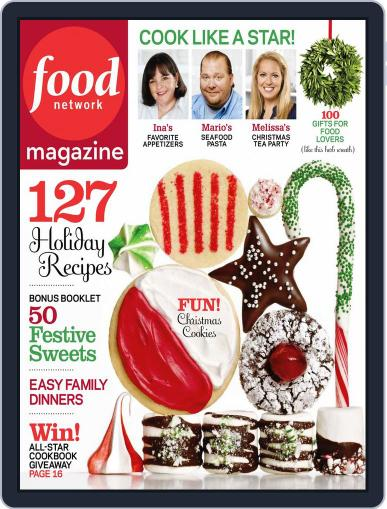 Food Network (Digital) November 22nd, 2011 Issue Cover
