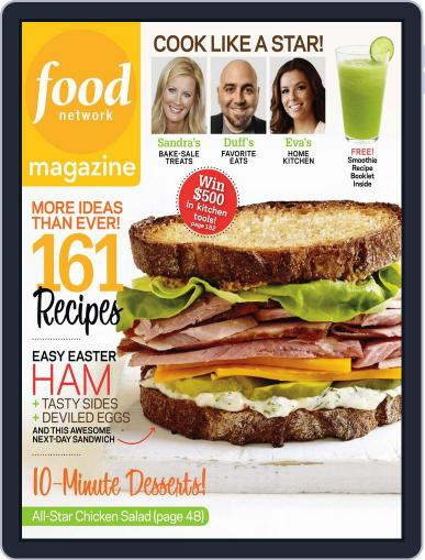 Food Network (Digital) March 24th, 2011 Issue Cover