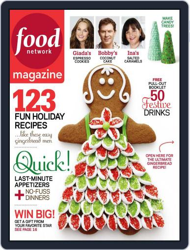 Food Network (Digital) November 24th, 2010 Issue Cover