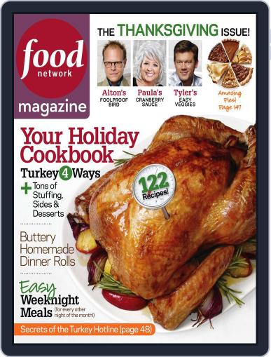 Food Network October 20th, 2010 Digital Back Issue Cover