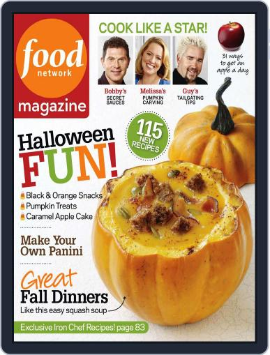 Food Network September 14th, 2010 Digital Back Issue Cover