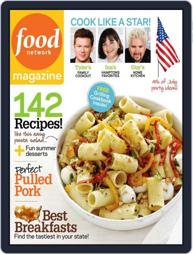 Food Network (Digital) July 1st, 2010 Issue Cover
