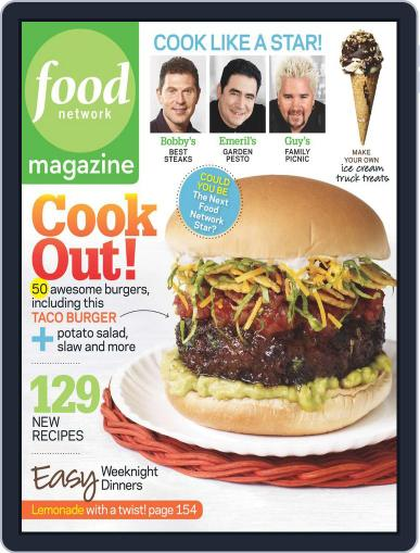 Food Network (Digital) May 18th, 2010 Issue Cover