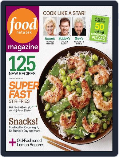 Food Network (Digital) February 18th, 2010 Issue Cover