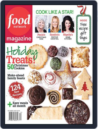 Food Network (Digital) December 10th, 2009 Issue Cover