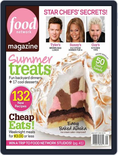 Food Network (Digital) October 1st, 2009 Issue Cover