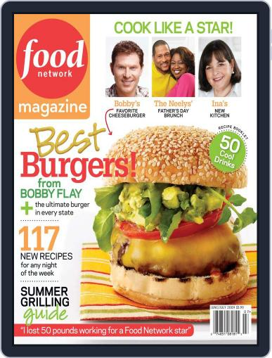 Food Network (Digital) July 1st, 2009 Issue Cover