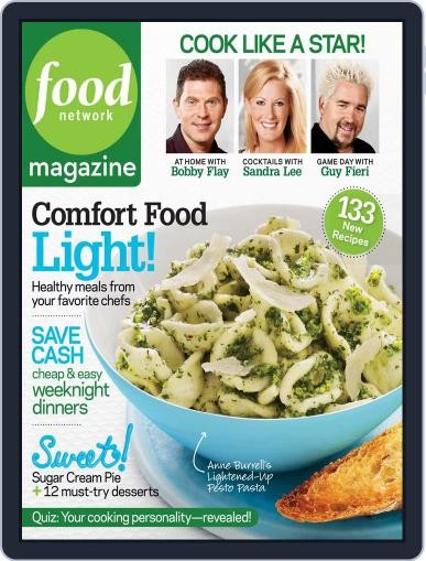Food Network (Digital) March 1st, 2009 Issue Cover
