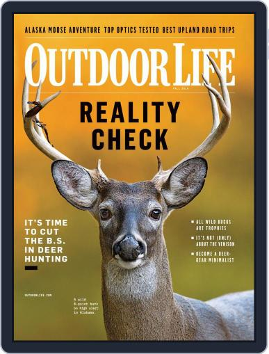 Outdoor Life August 14th, 2019 Digital Back Issue Cover