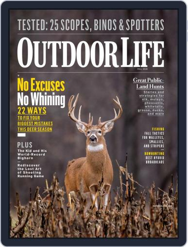 Outdoor Life (Digital) September 8th, 2018 Issue Cover