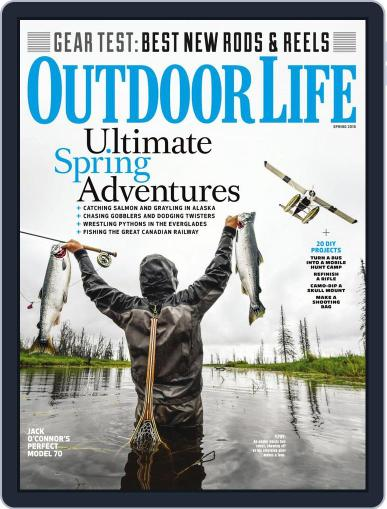 Outdoor Life (Digital) March 12th, 2018 Issue Cover