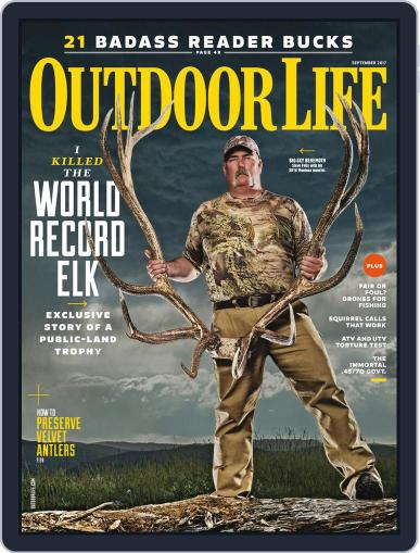Outdoor Life (Digital) September 1st, 2017 Issue Cover
