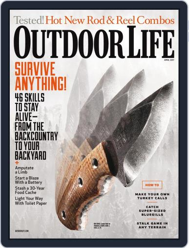 Outdoor Life (Digital) April 1st, 2017 Issue Cover