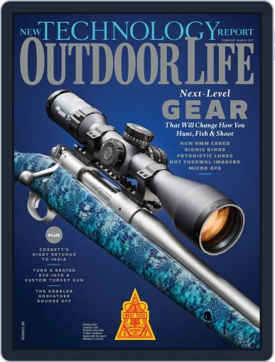 Outdoor Life (Digital) February 1st, 2017 Issue Cover