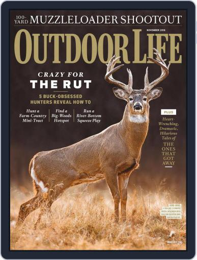 Outdoor Life (Digital) November 1st, 2016 Issue Cover