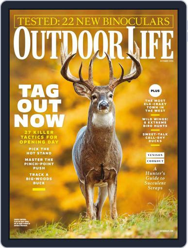 Outdoor Life (Digital) October 1st, 2016 Issue Cover