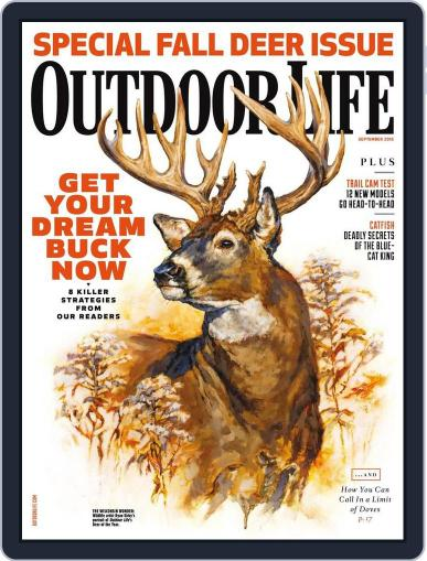 Outdoor Life (Digital) August 13th, 2016 Issue Cover
