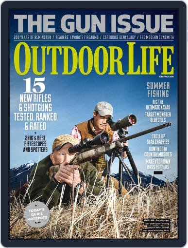 Outdoor Life (Digital) June 1st, 2016 Issue Cover