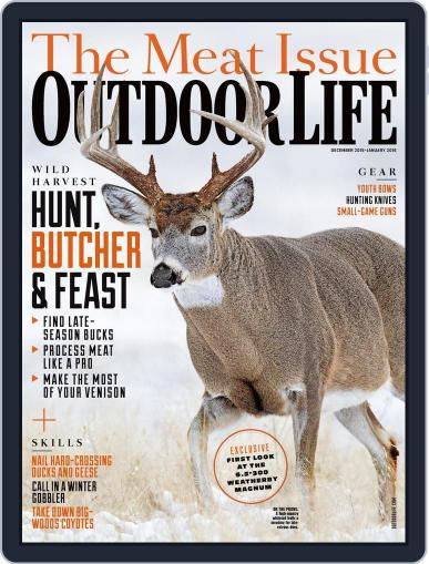 Outdoor Life November 14th, 2015 Digital Back Issue Cover