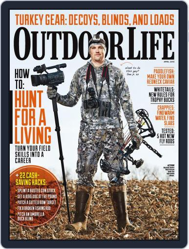 Outdoor Life April 1st, 2015 Digital Back Issue Cover