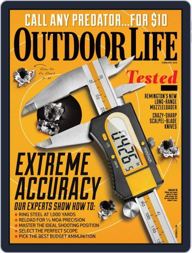 Outdoor Life January 10th, 2015 Digital Back Issue Cover
