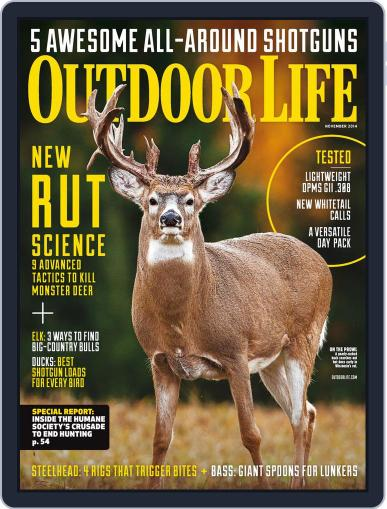 Outdoor Life (Digital) October 11th, 2014 Issue Cover