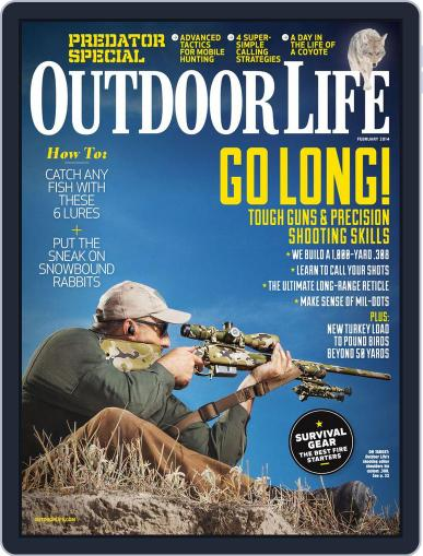Outdoor Life (Digital) January 4th, 2014 Issue Cover