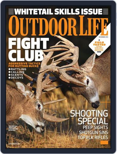 Outdoor Life October 12th, 2013 Digital Back Issue Cover