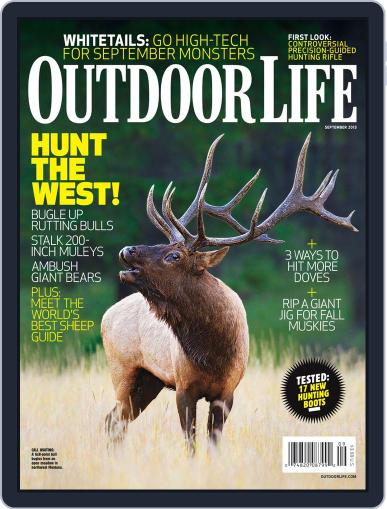 Outdoor Life (Digital) August 10th, 2013 Issue Cover