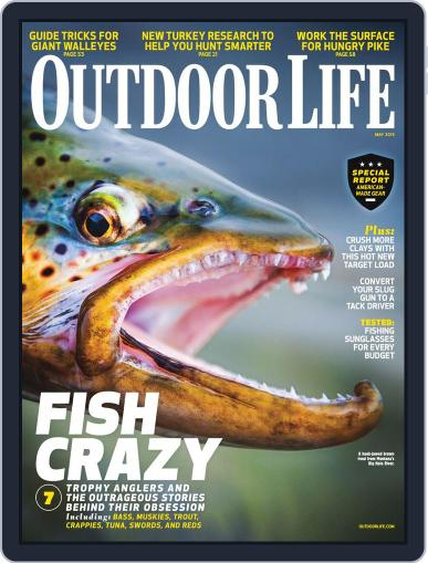 Outdoor Life April 6th, 2013 Digital Back Issue Cover