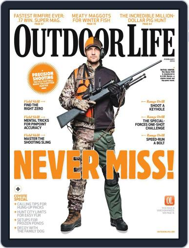 Outdoor Life January 5th, 2013 Digital Back Issue Cover