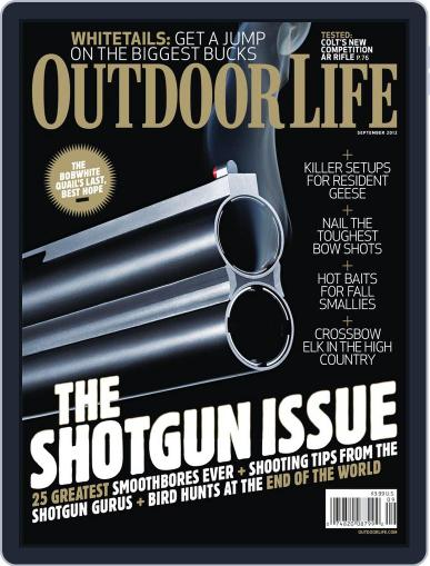 Outdoor Life August 11th, 2012 Digital Back Issue Cover