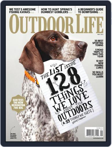 Outdoor Life April 7th, 2012 Digital Back Issue Cover