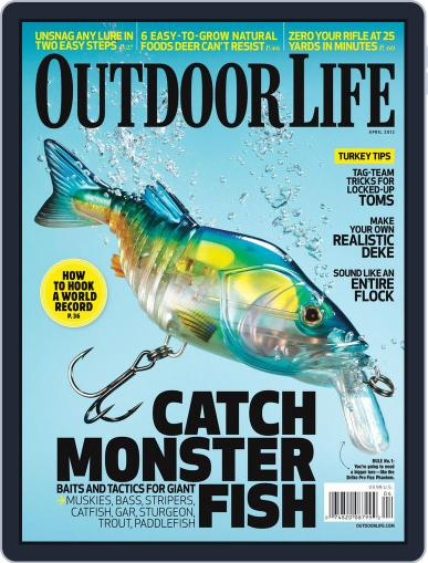 Outdoor Life March 10th, 2012 Digital Back Issue Cover