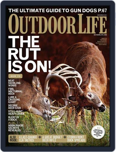 Outdoor Life (Digital) October 8th, 2011 Issue Cover