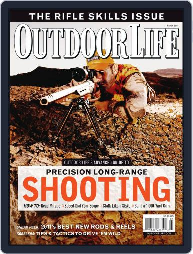 Outdoor Life February 12th, 2011 Digital Back Issue Cover