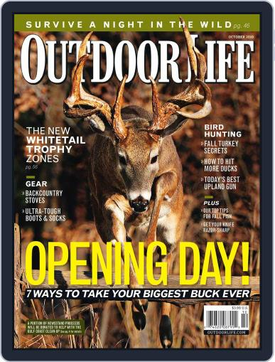 Outdoor Life September 11th, 2010 Digital Back Issue Cover
